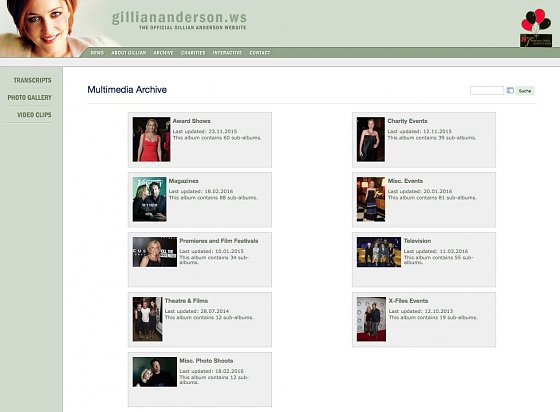 The Official Gillian Anderson Website