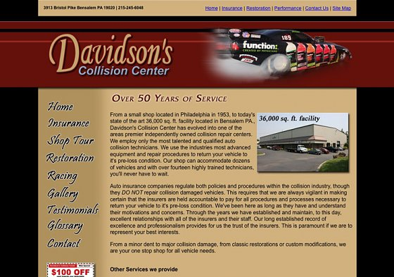 Davidson's Collision Center