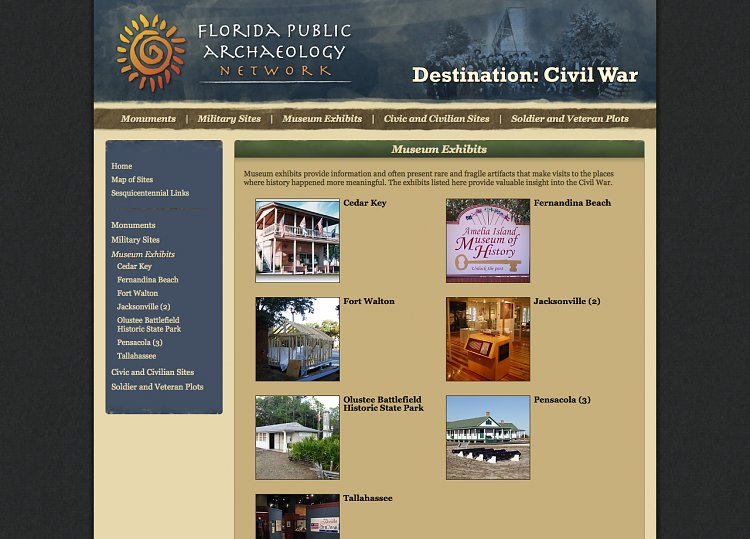Florida Public Archaeology Network – Destination: Civil War