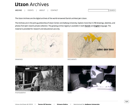 Utzon Archives