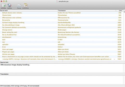 Translating Tutorial   User guide   ZenphotoCMS - The simpler media